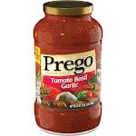 Prego Tomato Basil Garlic Italian Sauce 24 oz