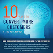 10 ways to convert more customers using psychology [infographic] - Holy Kaw!