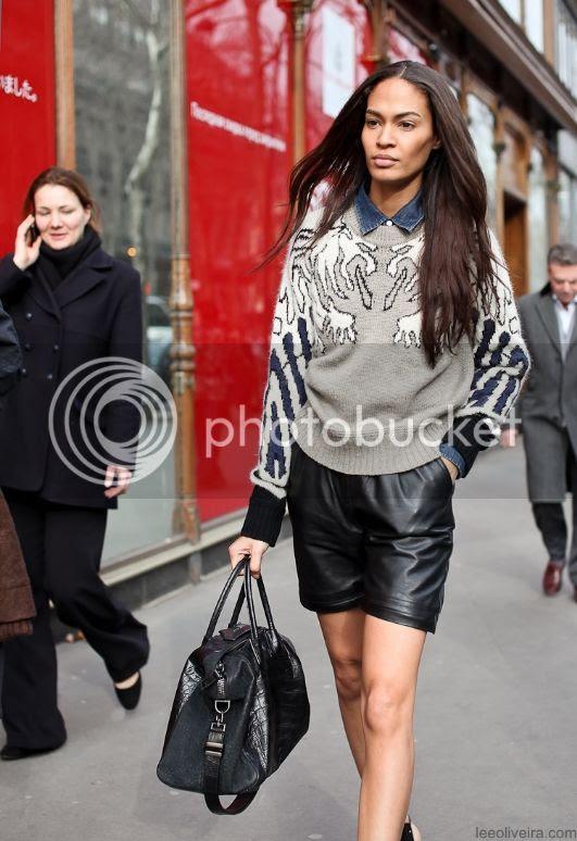 Lee Oliviera - On the Street - Joan Smalls, Paris