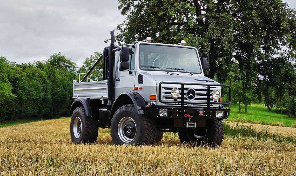 Unimog Arnie S U1300 Is Again For Sale Schwarzenegger