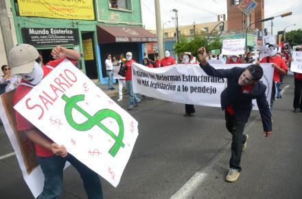 Conmemoran Día del Trabajo en Jalisco. Foto: Rafael del Río