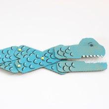 Cardboard dragon craft for kids