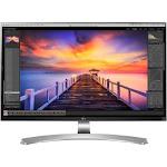 LG 27MU88-W 27 LED LCD Monitor - 16:9 - 5 ms - 3840 x 2160 - 300 Nit - 4K UHD - HDMI - DisplayPort - USB - 140 W - Textured Black, Silver Spray, High