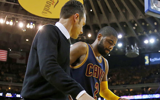 Finals Buzz: Kyrie Irving is the latest victim of the NBA's injury problem