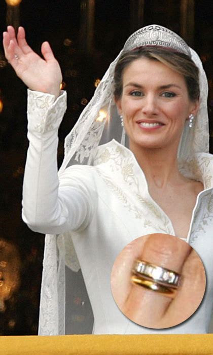 Royal wedding rings: Kate Middleton, Queen Letizia