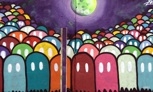 pacman grafitti