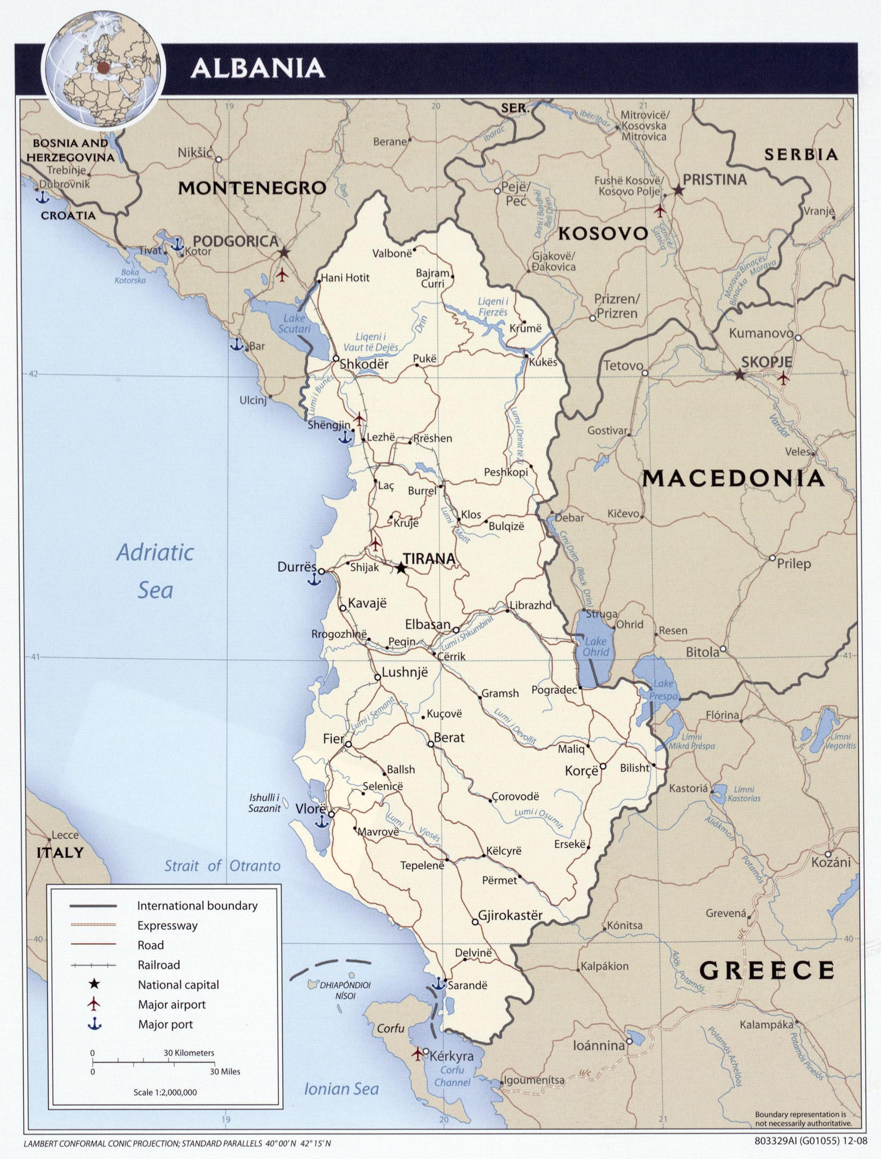 Karta crne gore i bosne
