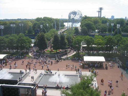 King National Tennis Center grounds