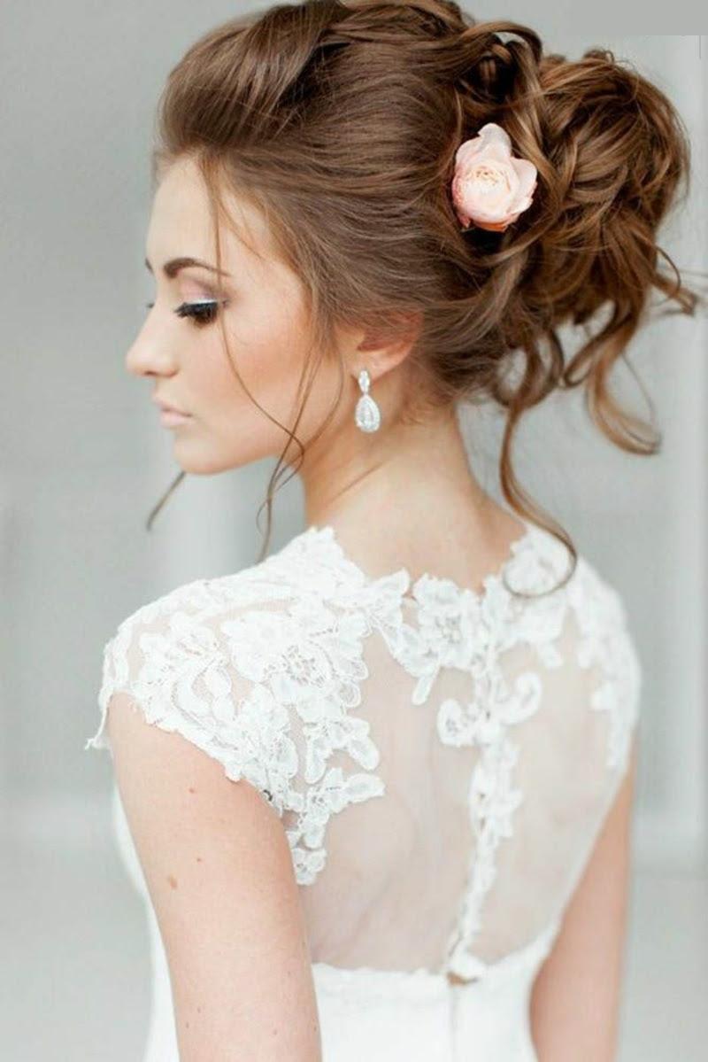 Brautfrisur Langes Haar Hochzeitswoche 1 Brautfrisur Haare Offen