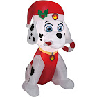 Gemmy Airblown Inflatable Paw Patrol Marshall with Candy Cane Christmas Decoration