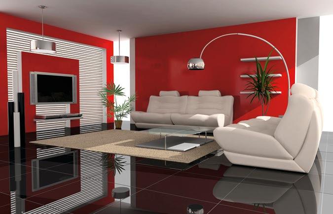 univers decoration salon moderne couleur