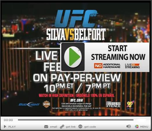 Watch Live Stream Online: UFC 126 Live Stream  Watch Live Stre...