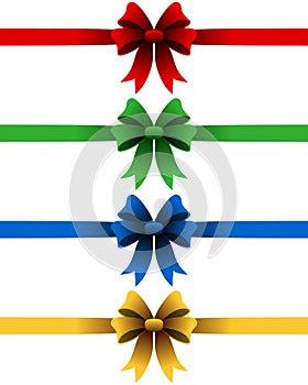 Christmas Ribbons Set