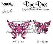 Duo Butterflies set no. 4