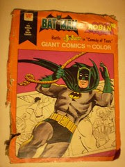 Cover of the Batman Giant Comics To Color
