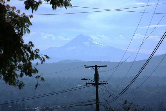 Mt. Hood from George Himes Park