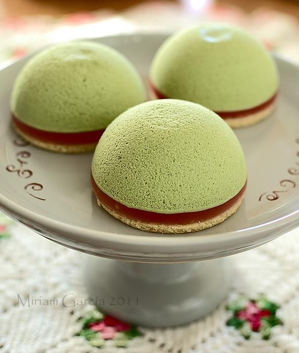 Matcha tea sweets 1
