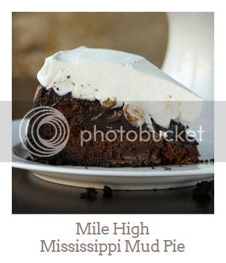 """Mile High Mississippi Mud Pie"""