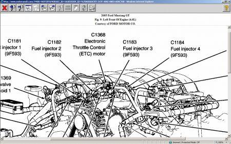 2006 Mustang Engine Diagram