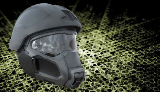 Future Army helmets make for cooler soldiers, terrified enemies