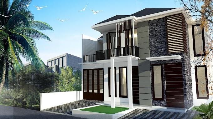 Desain Eksterior Rumah Minimalis   Ide Rumah Minimalis