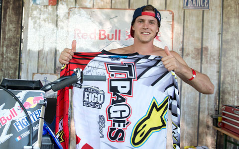 FORTY8 Freestyle MX Online Magazine | WIN a signed original RIDER JERSEY of TOM PAGÈS!