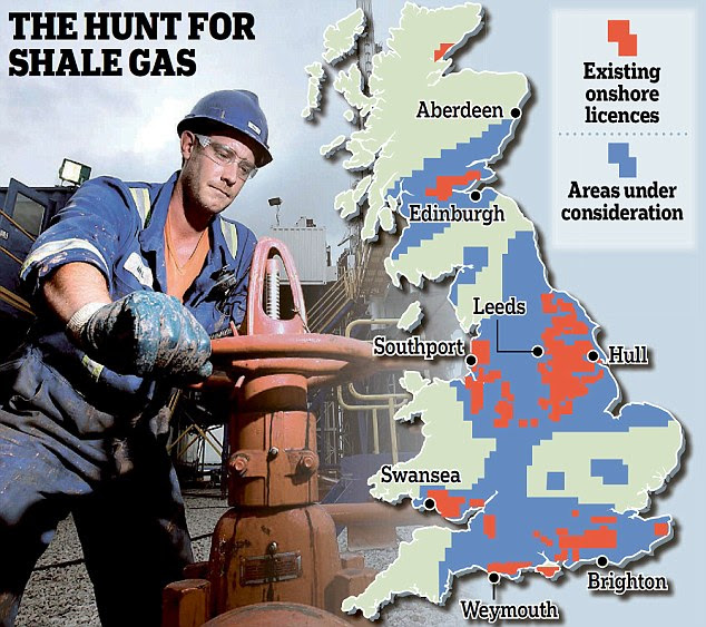 THE HUNT FOR SHALE GAS
