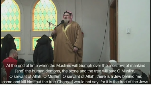 "Visiting imam denounced for calling Jewish people ""evil"""
