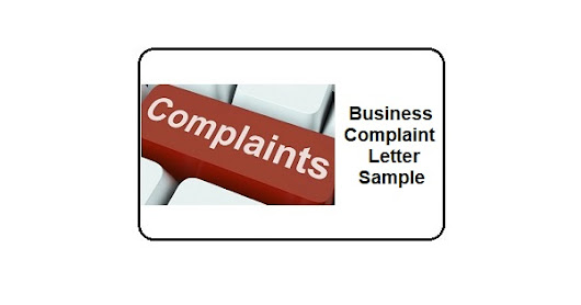 Business Complaint Letter Sample - Notary Colorado Springs