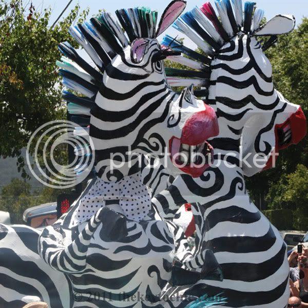 Santa Barbara Solstice festival parade 2011