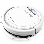 Pyle PureClean Smart Automatic Robot Vacuum Powerful Home Cleaning System, White by VM Express