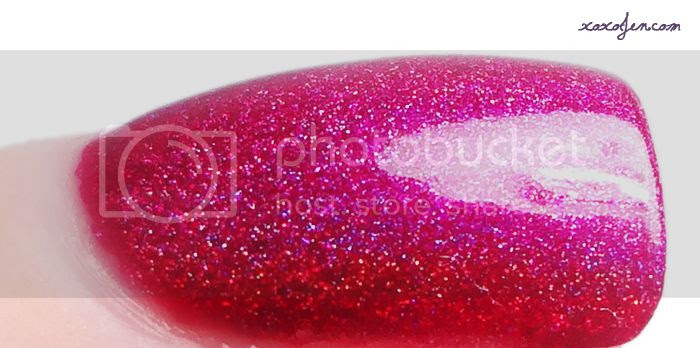 xoxoJen's swatch of Colors by Llarowe - Sparkles are a Girl's Best Friend