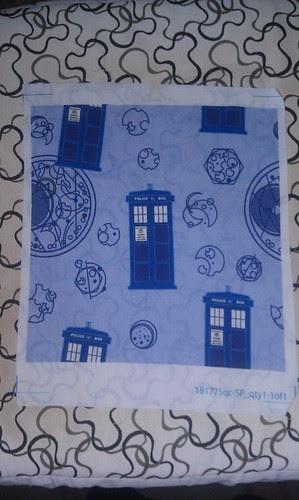TARDIS teapot rug