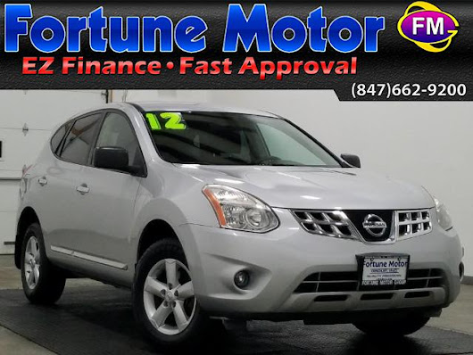 Used 2012 Nissan Rogue S FWD Krom Edition for Sale in Waukegan IL 60085 Fortune Motor Group Inc.