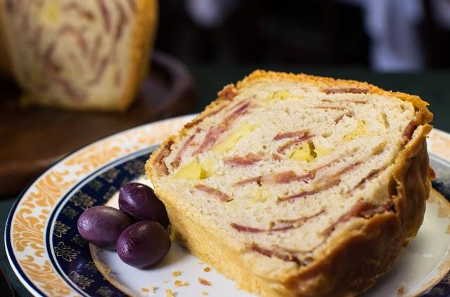 Pão de Calabresa- Pizzaria Nacional