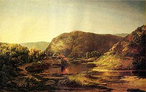 "English: ""Shenandoah Valley,"" oil on..."