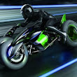 Kawasaki's Neon Green Trike Is an Absurd Anime Bike Brought to Life | Autopia | Wired.com