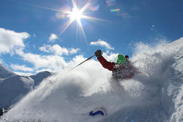 September powder skiing at Silverton