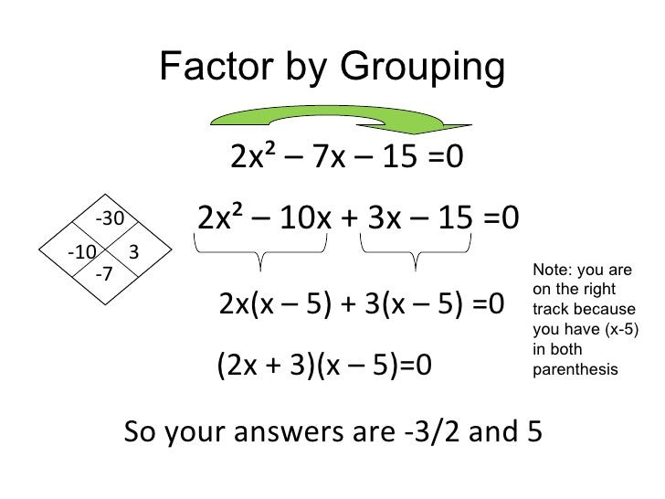 Factoring Trinomials By Grouping Worksheet With Answers  factoring polynomials quot gridwords 3
