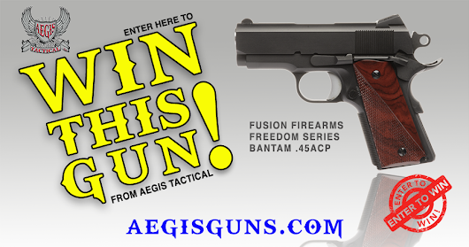 Enter to Win this Fusion Bantam 1911 .45acp from Aegis Tactical