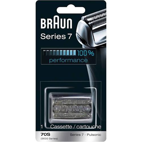 Braun Pulsonic Series 7 70S Foil & Cutter Replacement Head, Silver