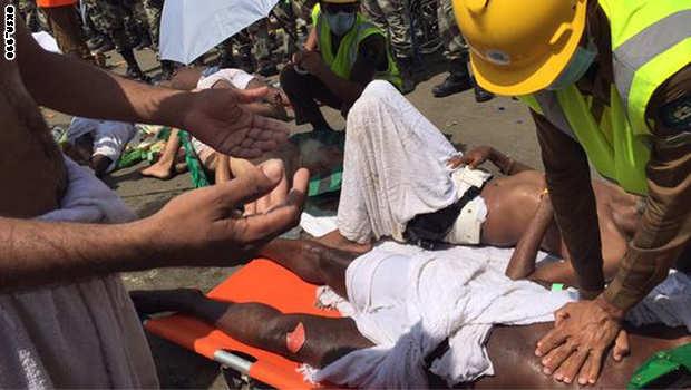 السعودية: 717 قتيلا ومئات الجرحى في حادث تدافع بين الحجاج في منى