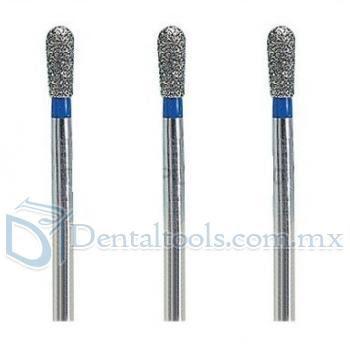 100 Pcs 1.6mm Fresas de diamante odontologia para perforación FG EX-21