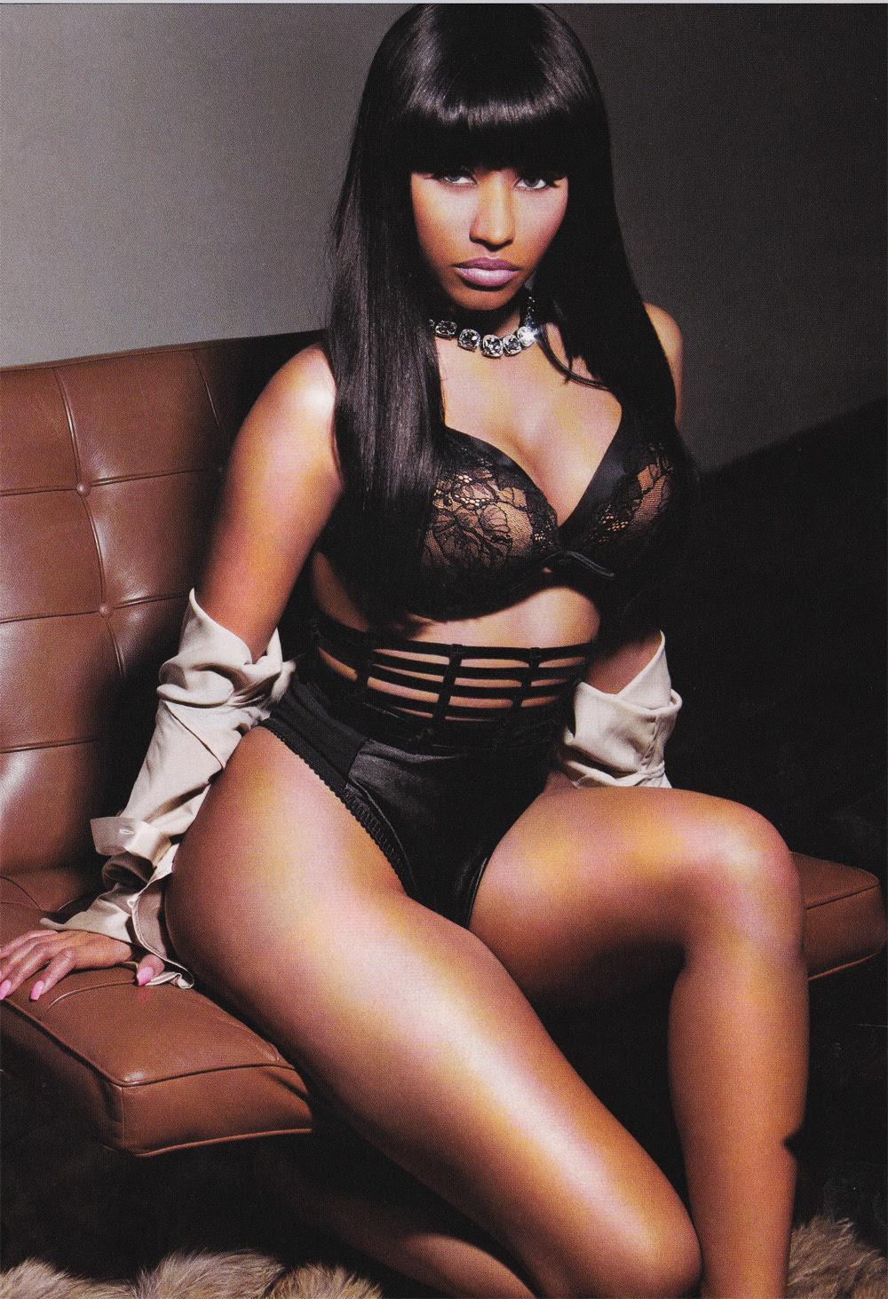 Flesh And Bones: Nicki Minaj Booty