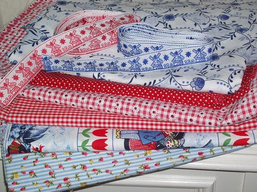 dutch folklore fabric