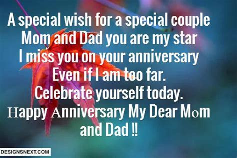 Wedding Anniversary Quote For Mom And Dad Wedding