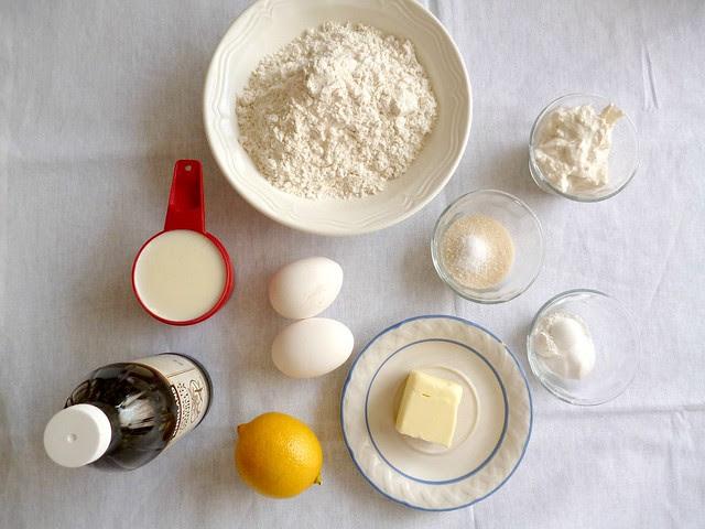Raspberry Bloom: Lemon Ricotta Pancakes