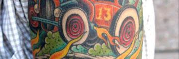 Car Themed Tattoos