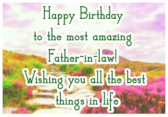 Birthday Quotes To Father In Law Archidev