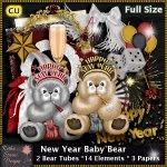 New Year Baby Bear - CU